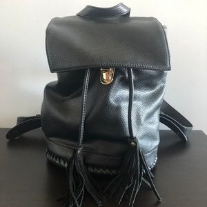 fb96501ab22 Silence   Noise Leather Backpack